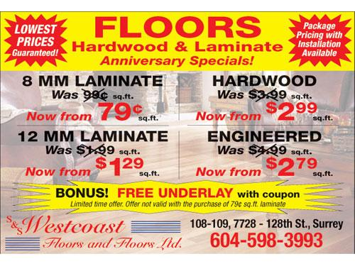Lowest Prices Guaranteed - Hardwood & Laminate