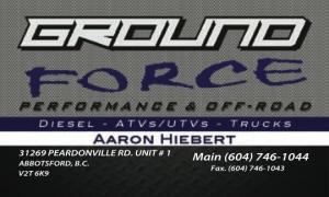 GROUND FORCE PERFORMANCE & OFF-ROAD